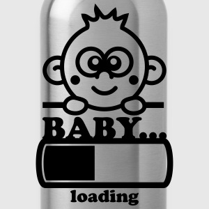 Baby Loading Bar Camisetas - Cantimplora