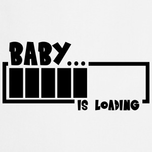 Baby Girl Loading Bar T-shirts - Keukenschort
