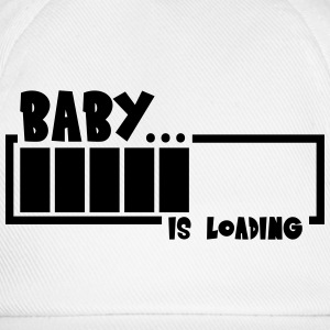 Baby Girl Loading Bar T-shirts - Baseballcap