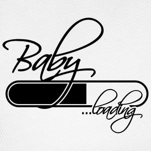 Baby Loading Girl T-shirts - Baseballcap