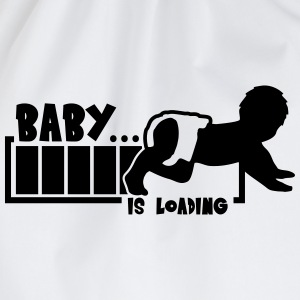 Baby Is Loading Magliette - Sacca sportiva