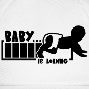 Baby Is Loading T-skjorter - Baseballcap
