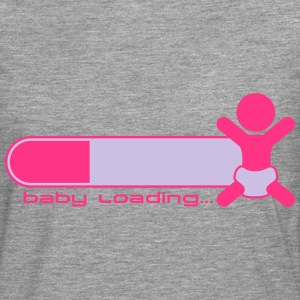 Baby Girl Is Loading Logo Tee shirts - T-shirt manches longues Premium Homme