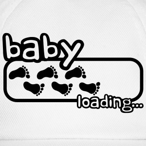 Baby Boy Is Loading Logo T-shirts - Basebollkeps