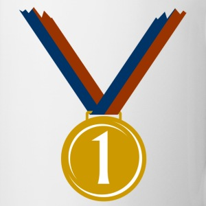 Gold medal for first place  T-Shirts - Mug