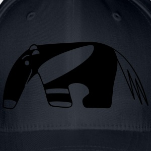 Anteater for dark backgrounds Accessoires - Casquette Flexfit