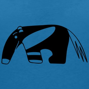 Anteater for dark backgrounds Accessoires - T-shirt col V Femme