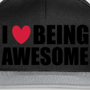Being Awesome Sweatshirts - Snapback Cap