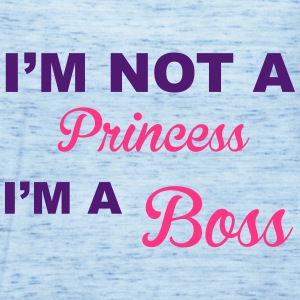 Princess Boss Shirts - Women's Tank Top by Bella