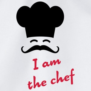 I am the chef Bottles & Mugs - Drawstring Bag