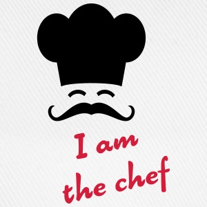 I am the chef Bottles & Mugs - Baseball Cap
