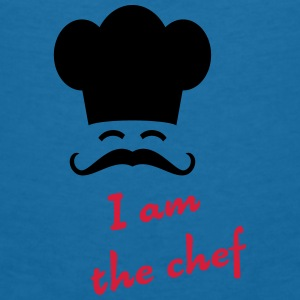 I am the chef Accessories - Dame-T-shirt med V-udskæring