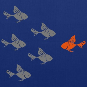 Contre le poisson rouge actuel  Tee shirts - Tote Bag