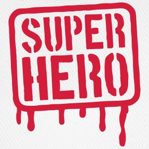 Super Hero Stamp T-Shirts - Baseball Cap