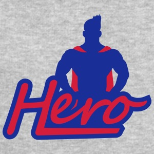 Super Hero Logo Design T-Shirts - Men's Sweatshirt by Stanley & Stella