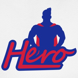 Super Hero Logo Design T-shirts - Basebollkeps