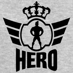 King Hero Logo T-Shirts - Men's Sweatshirt by Stanley & Stella