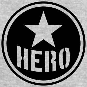 Hero Circle Logo T-Shirts - Men's Sweatshirt by Stanley & Stella