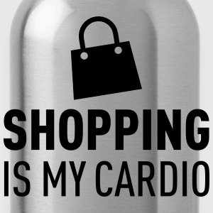 Shopping Is My Cardio Tröjor - Vattenflaska