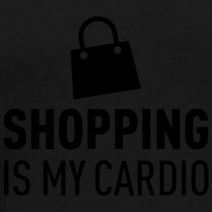 Shopping Is My Cardio Felpe - Maglietta Premium da uomo