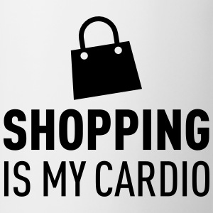 Shopping Is My Cardio T-shirts - Mugg