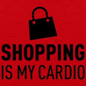 Shopping Is My Cardio Kepsar & mössor - Premiumtanktopp herr