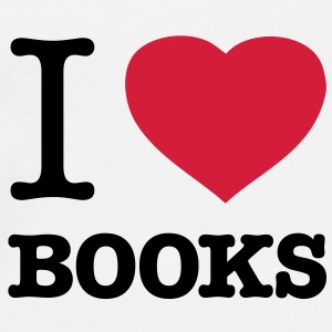 I ♥ BOOKS - Men's Premium T-Shirt