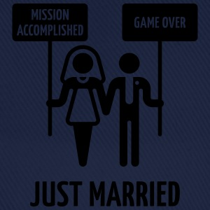 Just Married – Mission Accomplished – Game Over T-Shirts - Baseball Cap