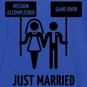 Just Married – Mission Accomplished – Game Over T-Shirts - Women's Tank Top by Bella