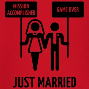 Just Married, Mission Accomplished, Game Over - Baby Langarmshirt