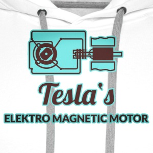 Forscher & Entwickler: Tesla Bottles & Mugs - Men's Premium Hoodie
