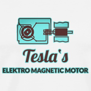 Forscher & Entwickler: Tesla Bottles & Mugs - Men's Premium T-Shirt