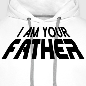 I am your FATHER 3D (1c) T-Shirts - Men's Premium Hoodie