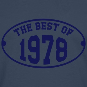 The Best of 1978 T-shirts - Mannen Premium shirt met lange mouwen
