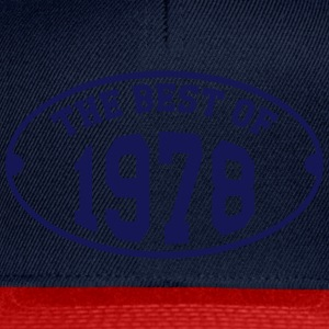The Best of 1978 Magliette - Snapback Cap