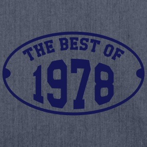 The Best of 1978 T-Shirts - Shoulder Bag made from recycled material