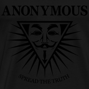 Anonymous NWO  Sweat-shirts - T-shirt Premium Homme