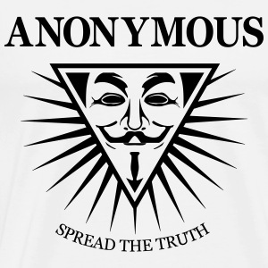 Anonymous NWO  Pullover & Hoodies - Männer Premium T-Shirt