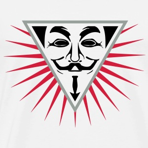 Anonymous NWO logo 3c Sweat-shirts - T-shirt Premium Homme