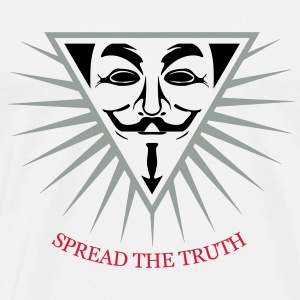 Anonymous NWO Spread the Truth 3c Sweat-shirts - T-shirt Premium Homme