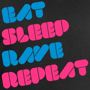 i love eat sleep rave repeat music raver t-shirts Camisetas - Sudadera hombre de Stanley & Stella