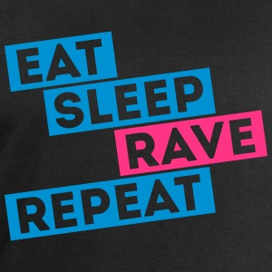 i love eat sleep rave dance musik repeat t-shirts T-Shirts - Männer Sweatshirt von Stanley & Stella