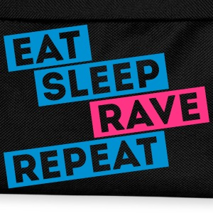 i love eat sleep rave dance musik repeat t-shirts T-Shirts - Kinder Rucksack