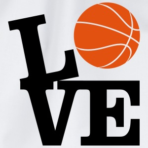Love Basketball Tee shirts - Sac de sport léger