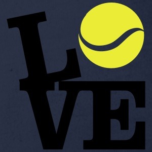 Love Tennis T-Shirts - Baby Bio-Kurzarm-Body