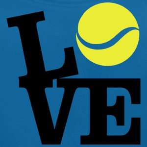 Love Tennis Shirts - Baby Organic Bib
