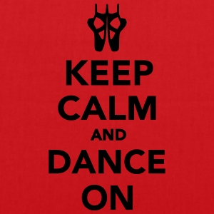 Keep calm and dance on T-Shirts - Stoffbeutel