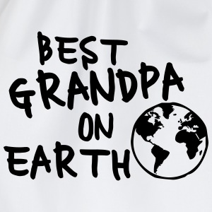 Best grandpa on earth T-Shirts - Turnbeutel