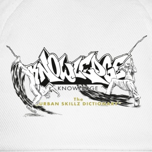 KNOWLEDGE - the urban skillz dictionary - promo sh Tee shirts - Casquette classique
