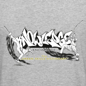 KNOWLEDGE - the urban skillz dictionary - promo sh - Männer Slim Fit T-Shirt